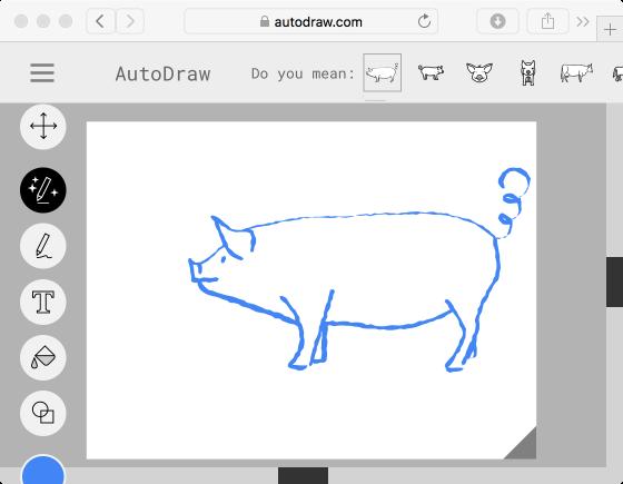 autodraw cat - piglet