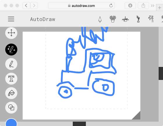 autodraw tractor - inebriated human