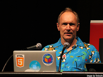 You don't know who Tim Berners-Lee is? Well you f@#king well should!